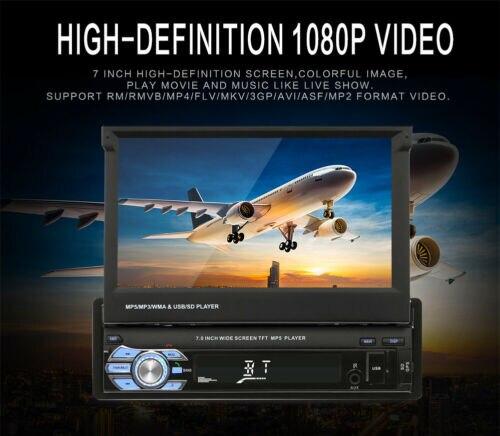 SWM 9601G mis à niveau 7 pouces 1din écran tactile voiture stéréo lecteur MP5 GPS Navi RDS AM FM Radio USB/TF/AUX unité de tête pour téléphone Android