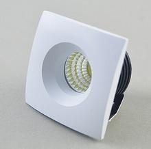 цена на Free shipping 10pcs  Mini LED 5W COB Downlight AC85-265V Jewelry lamp bookcase led ceiling CE/ROHS