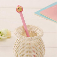 panfelou stationery pen neutral pen Pink yellow face cute little figure Office culture and education school