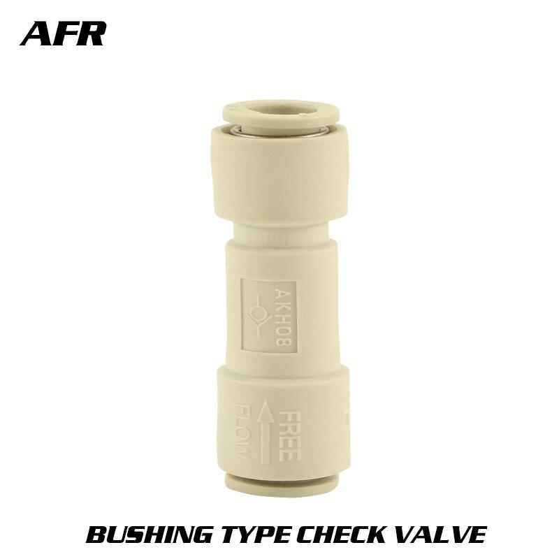 10PCS/LOT SMC type connector series AKH04-00 AKH06-00 AKH08-00 AKH10-00 AKH12-00 Bushing check valve