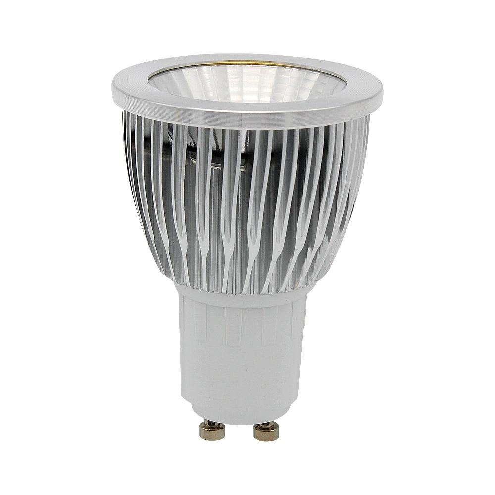 Support Dimmer High Power GU10 12W COB Spotlight LED Lamp Light Bulb