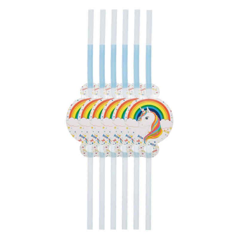 POP Единорог тема одноразовые Бумага чашка пластина, рог детский фон на день рождения баннер для праздника для маленьких украшение душевой кабины расходные материалы