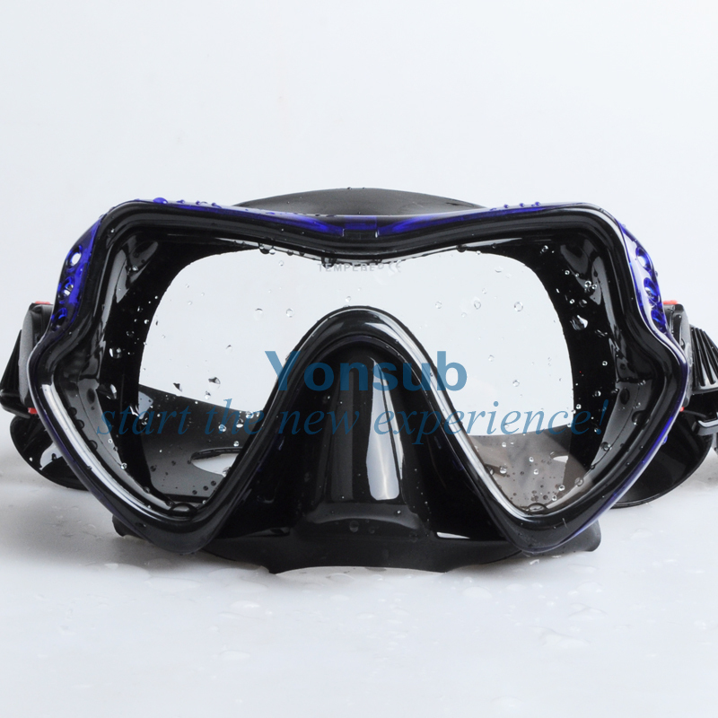 moda Hight Quality Scuba Diving Snorkeling Silikon Maska - Su idmanı - Fotoqrafiya 2
