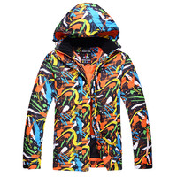 Brand New Winter Ski Jackets Suit For Men Outdoor Waterproof Snowboard Jackets Climbing Snow Ski Sports
