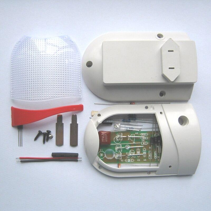 1PCS Light Control LED Night-Light Photosensitive Sensor CON-L DIY Kit