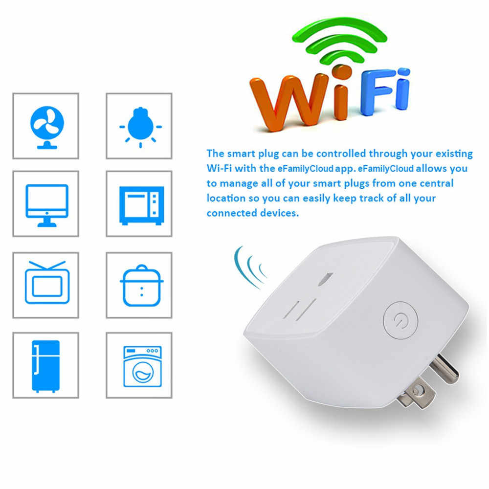 Www Google Com Au 2pc Smart Plug Wifi Outlet Compatible For Alexa Echo Google Home With Timer Function Au 22