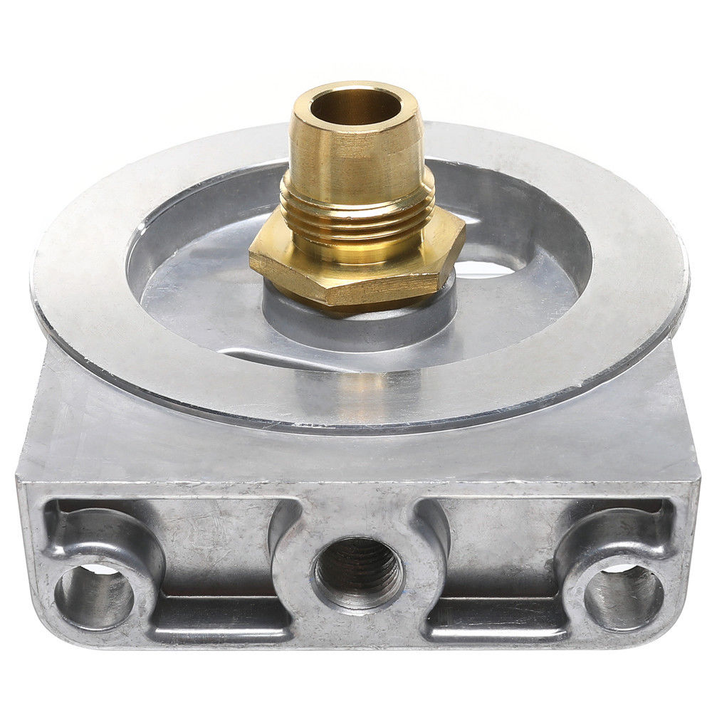 small resolution of diesel fuel filter housing header for ford 6 9l 7 3l diesel enginesdiesel fuel filter housing