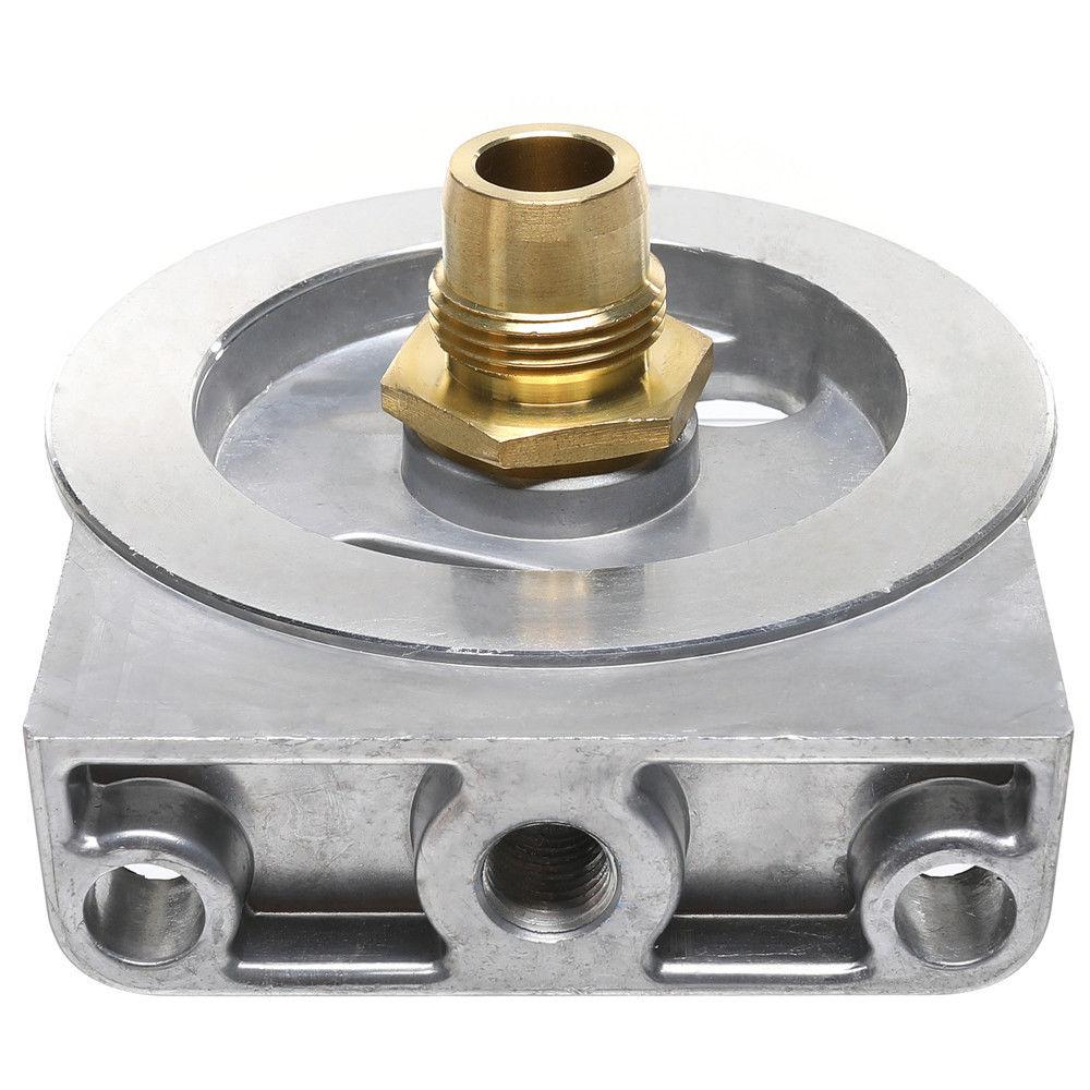 medium resolution of diesel fuel filter housing header for ford 6 9l 7 3l diesel enginesdiesel fuel filter housing