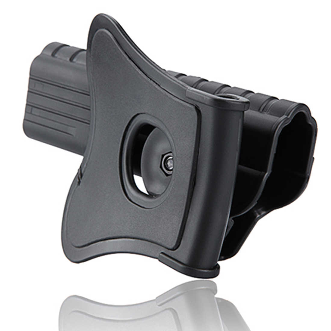 NFSTRIKE Amomax 34 Ajustável Tactical Holster Para Glock E Réplica-Right-Handed Preto (Apenas Com Placa Cintura, nenhuma Outra Parte)