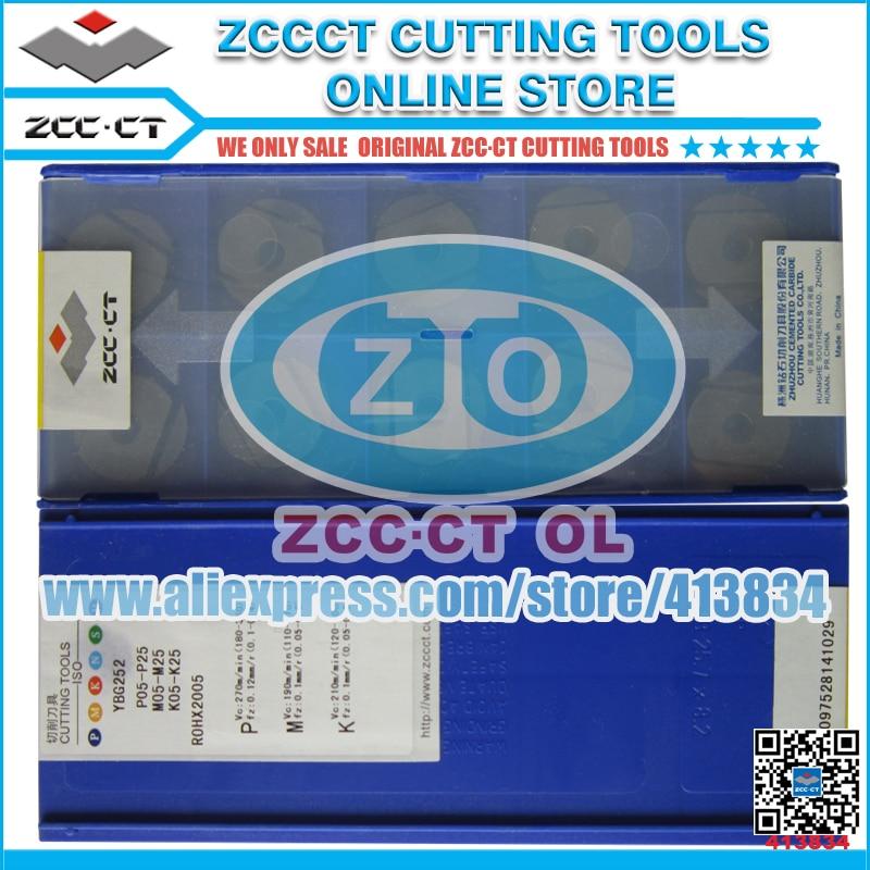 ZCC plate 10pcs/lot ZOHX2005-GM YBG252 ZOHX2005 ZOHX 2005-GM zcc.ct carbide cutting tool cutter cnc machinery part rdkw 10t3mo ybg202 10pcs lot zcc ct diamond brand cemented carbide cnc cutting tools inserts