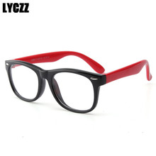 53593763631 LYCZZ الاطفال النظارات الأطفال مرنة TR90 عادي نظارات إطار وصفة طبية البصرية  إطارات نظارات الفتيات الفتيان البيضاوي نظارات