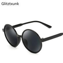 Glitztxunk 2018 New Round Sunglasses Retro Men Women Brand D