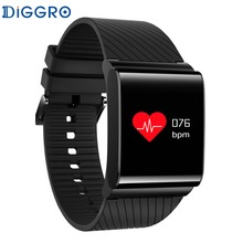 NEW Diggro DB 01 Colorful Screen Smart Wristband Blood Pressure Blood Oxygen Monitor Heart Rate Sport