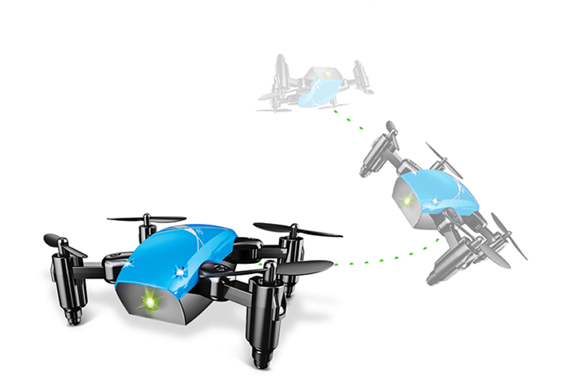 geekoplanet.com - Foldable RC Mini Pocket Drone