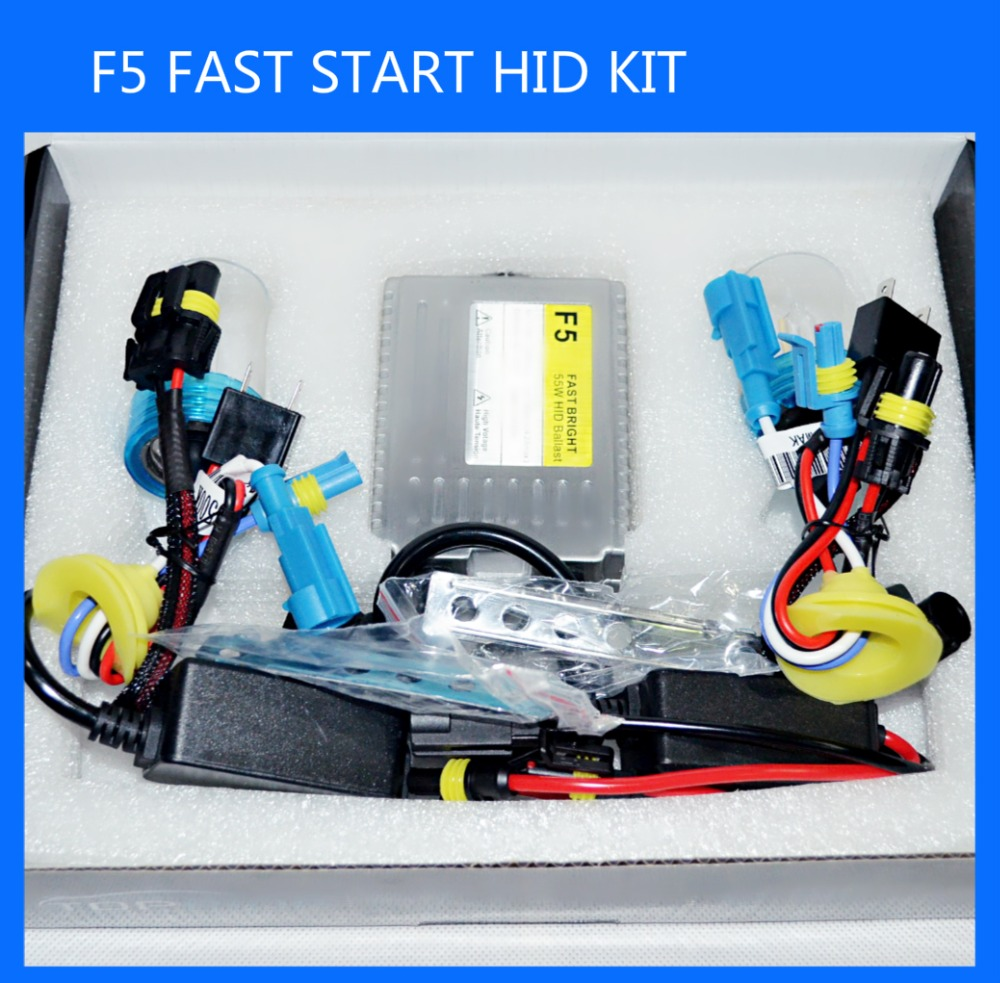 2016 55W fast brighthid kit H7 5500K metal base fast bright quick start bulb 0.1second quick start fast bright hid xenon kit койнония 55 2016