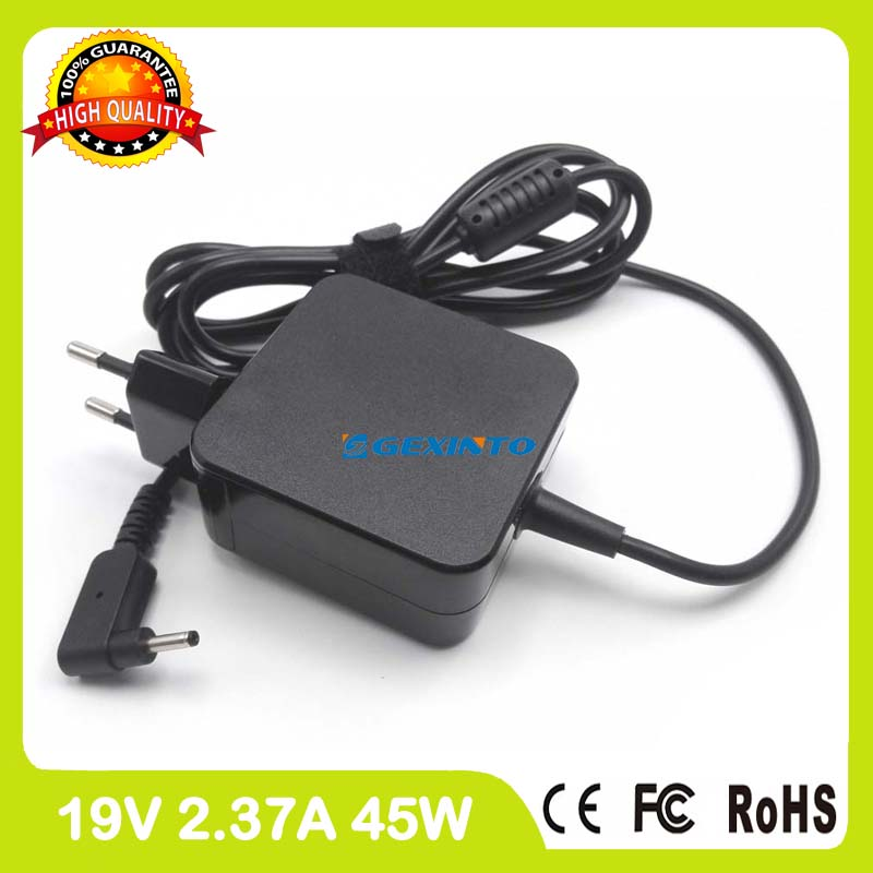 19V 2.37A 45W ac power adapter laptop charger for Asus Zenbook UX21E UX31E UX21K UX31K Ultrabook EU Plug