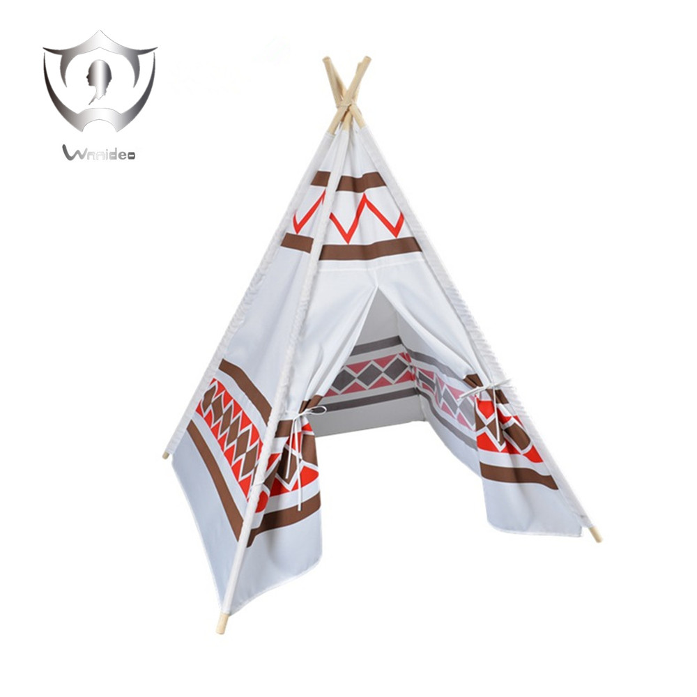 Wnnideo Puzzle Childrens Indian Tent Indoor Outdoor Dollhouse Cotton Baby Game Room Furniture Pine Tent House ...