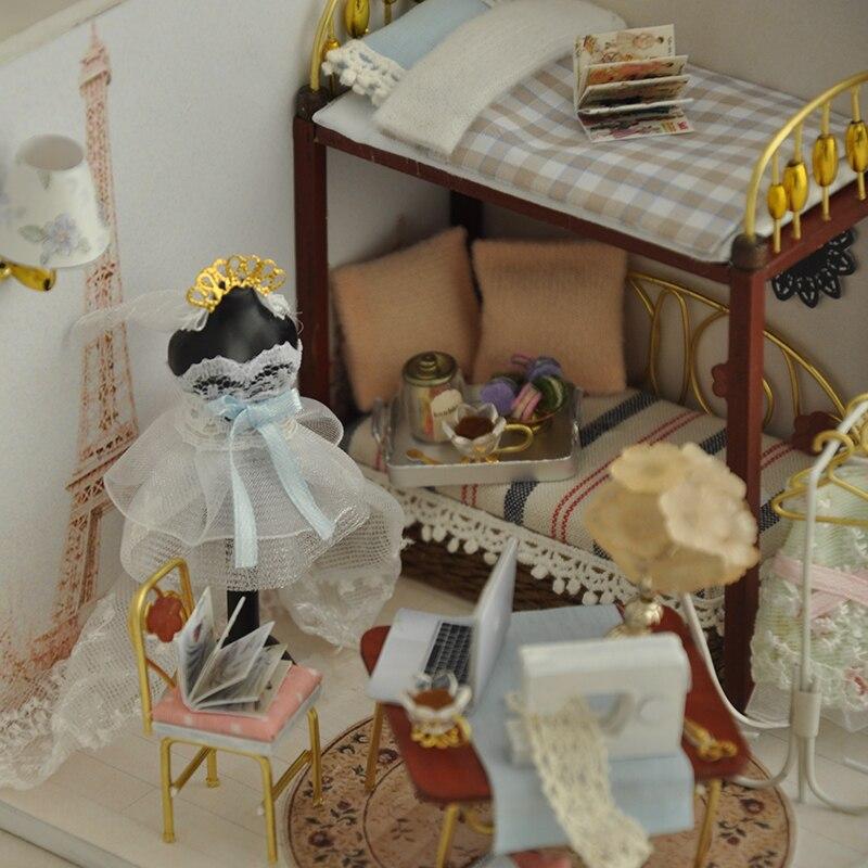 Casas de Boneca boneca em miniatura casa de Dimensões : 14x13x12cm