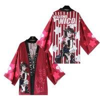 Anime Lovelive! Love Live Honoka Kousaka Nico Yazawa Eli Ayase Cosplay Costume Japan Kimono Daily Casual Cloak Halloween Costume