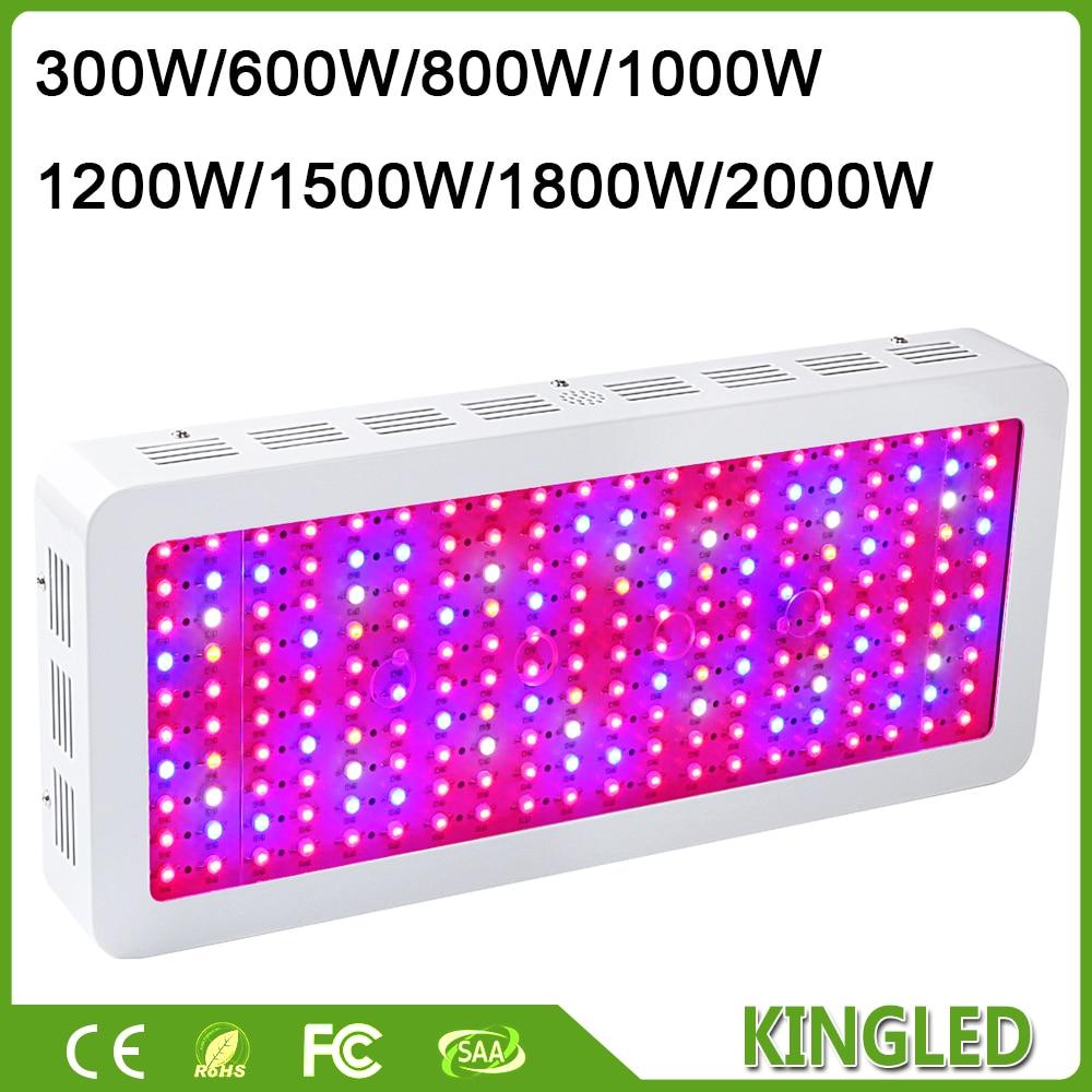 LED Grow Light Full Spectrum 300W/600W/800W/1000W/1200W/1500W/1800W/2000W for Indoor Aquario Hydroponic Grow LED Lamp High Yield