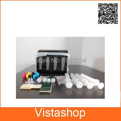 4 цвета DIY СНПЧ комплекты со всеми Accessaries с чернилами для Epson HP Canon Brother принтеров СНПЧ DIY комплекты Интимные аксессуары