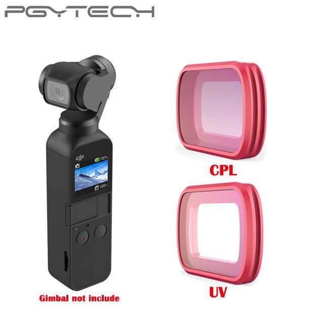 PGYTECH DJI Osmo Pocket CPL Filter UV Camera Lens Ultra