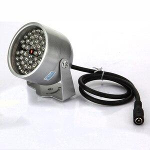 Image 4 - 2 adet 48 LED aydınlatıcı ışık CCTV IR kızılötesi gece görüş lambası güvenlik kamera için