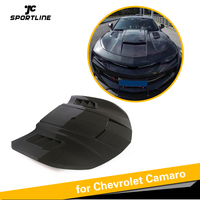 Carbon Fiber Engine Hood Bonnet For Chevrolet Camaro Coupe 2016 2017 2018