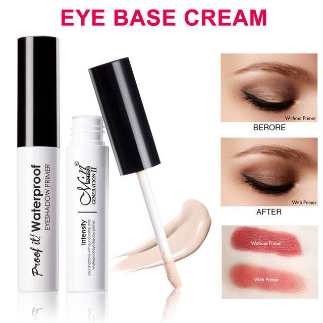 Eyes Makeup Primer Base Eyeshadow Primer Easy Wearing Waterproof Long-lasting Concealer 669 3