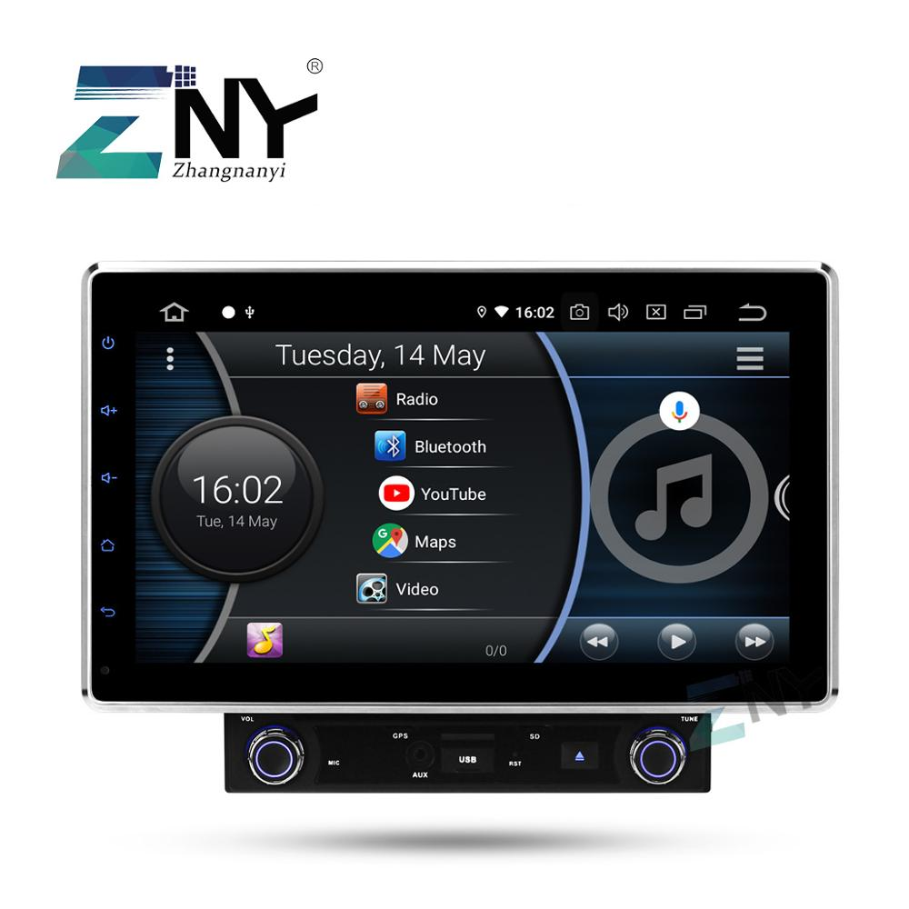 2019 Best 10.1 In Dash Double 2 Din Universal 8 Core Car Stereo Android 9.0 Auto Radio FM RDS GPS Navigation Audio Video Player
