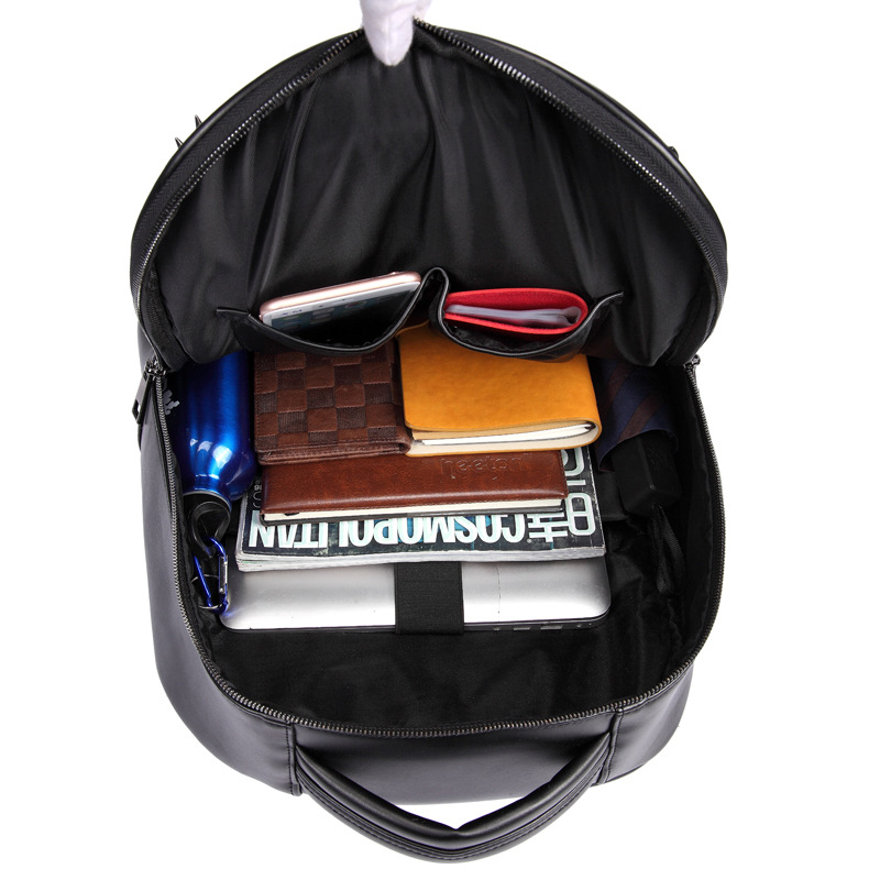 Vintage Männer silver Schädel Mädchen Computer Schule gold Reisetaschen 3d Black Laptop Taschen Kühle Rucksack Mode Halloween Nieten Leder x7qwTRI