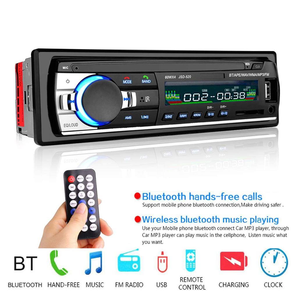 1PC Autoradio Android bluetooth car stereo Multimidia Mp3 player usb 1 din car radio receiver Digital Auto subwoofer for pioneer-in Car Radios from Automobiles & Motorcycles