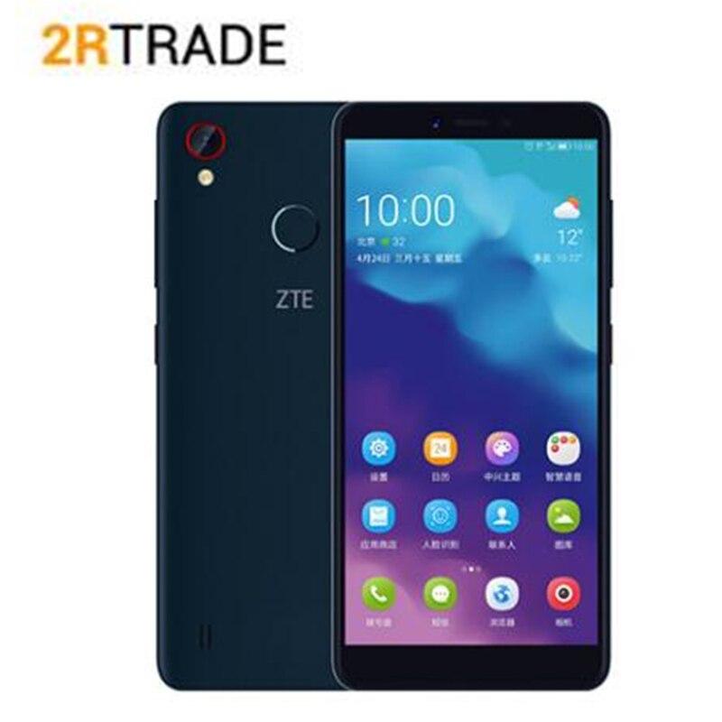 Оригинальный zte лезвие A4 Android 8,1 4 GB Оперативная память 64 Гб Встроенная память Восьмиядерный Snapdragon Dual SIM карты 4G-LTE смартфон мобильный телефон