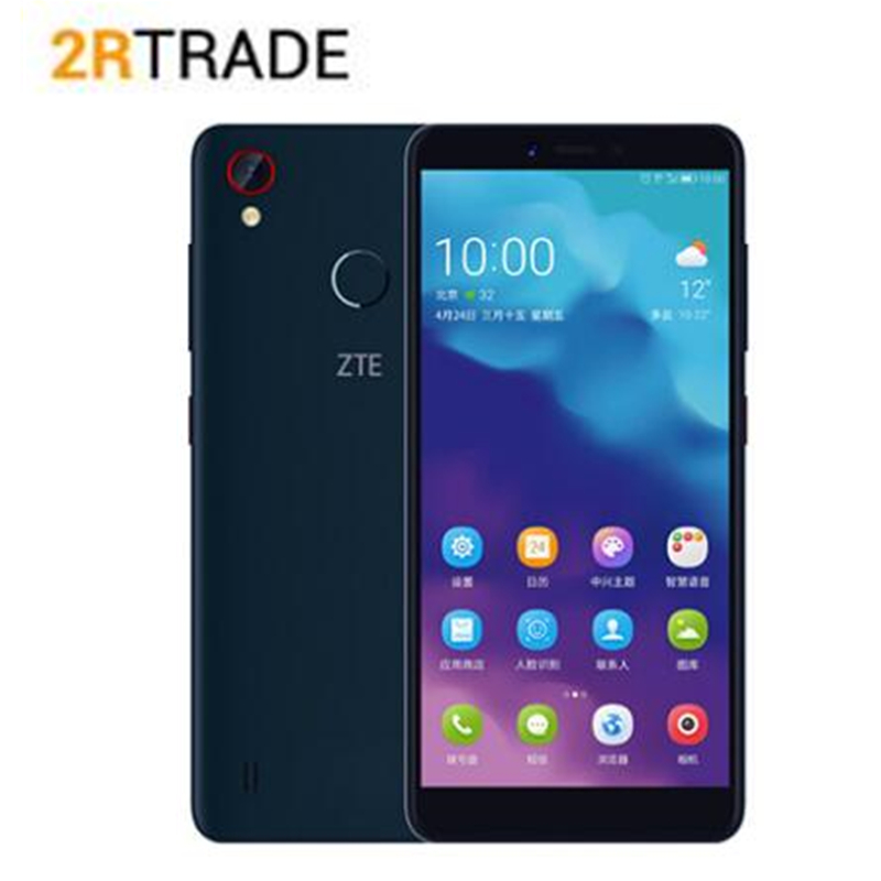 Original ZTE Klinge A4 Android 8.1 4 GB RAM 64 GB ROM Snapdragon Octa Core Dual SIM karte 4G-LTE Smartphone Handy
