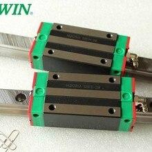 Новое Оригинальные HIWIN Линейные Направляющие EGR30 L1000mm железнодорожных+ 2 шт. EGH30CA узкий блок подшипники