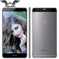 Original huawei honor v8 4g lte mobile phone 5.7 polegada 4 gb de ram 32 GB ROM Android 6.0 Kirin 950 Octa Dual Core 12.0MP Traseira 3 câmera
