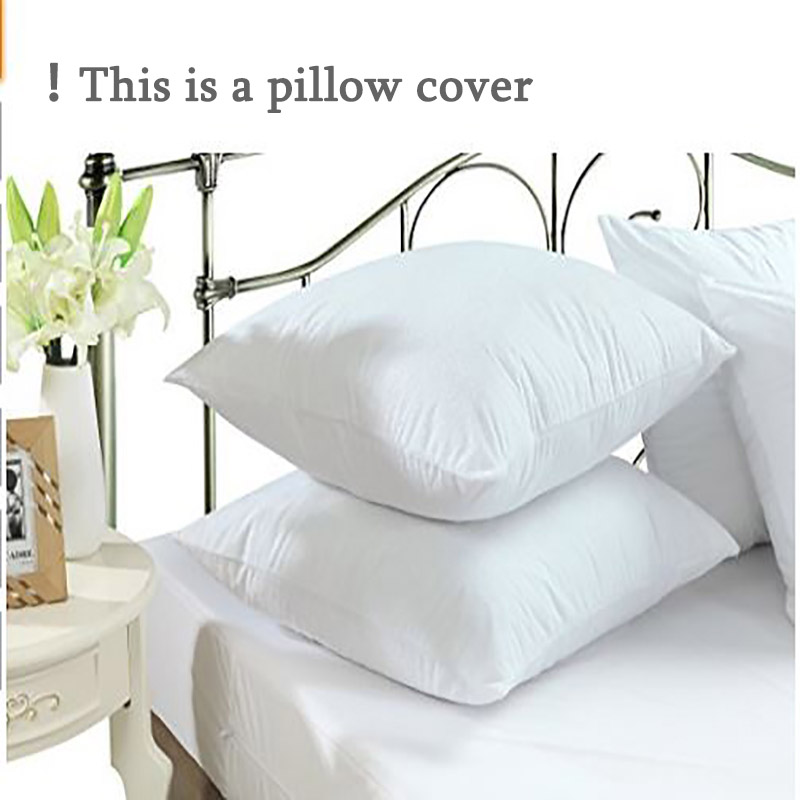 Hot Selling Standard Size 50*70cm 1pc  Terry Waterproof Pillow Protector for Baby Bed Wetting