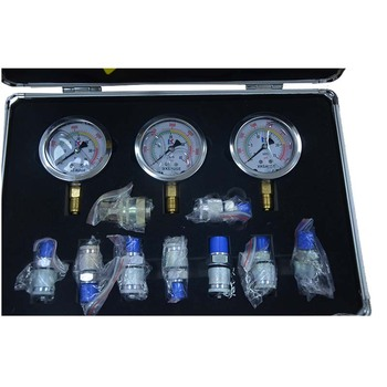 Chinese top quality hydraulic pressure measuring tool box for all kinds of hydraulic machine ,engineering machinery etc