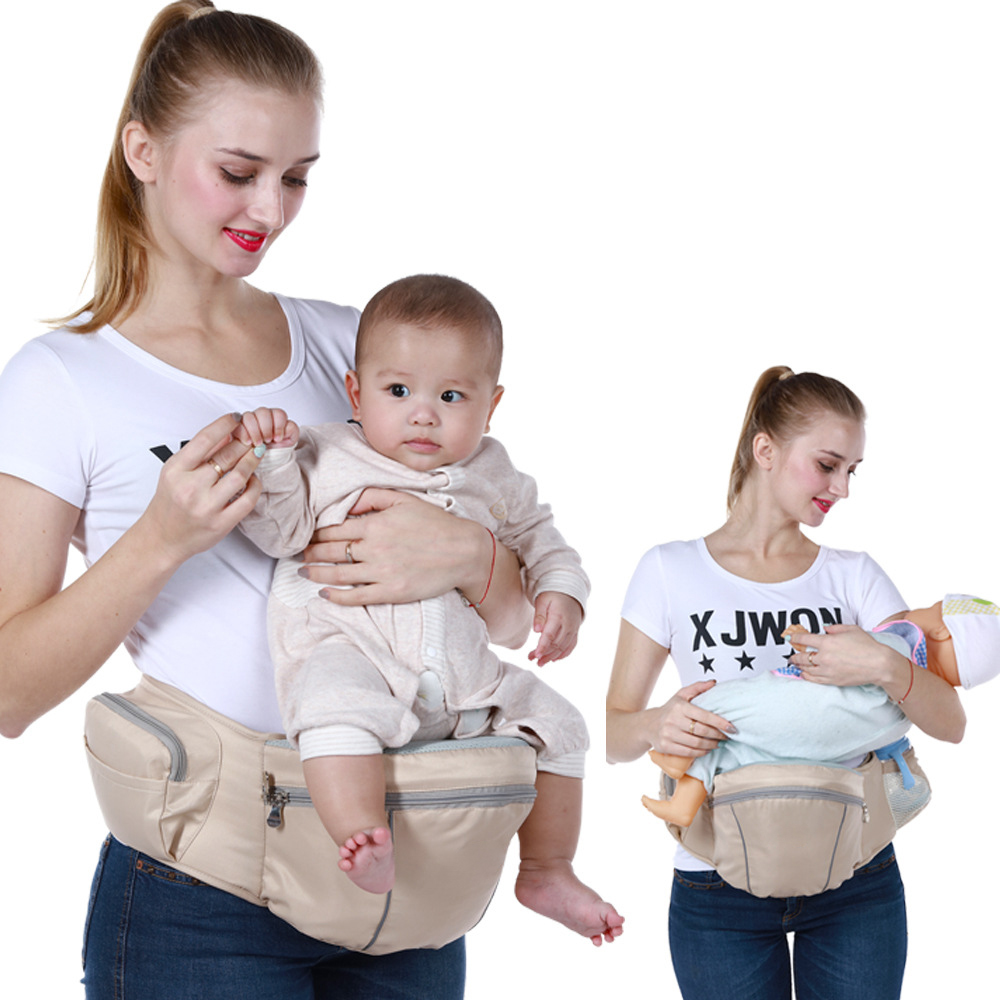 Baby Hip Seat Carrier Waist Stool Walkers Hold Waist Belt Backpack Carrier Kids Infant Comfort Hipseat Waist Seat Baby Carrier