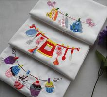 Eco-friendly Cotton Placemat Pads Tea Towel Dining Table Mats Heat Resistant Baking Pad Coaster Table Decoration Kitchen wares