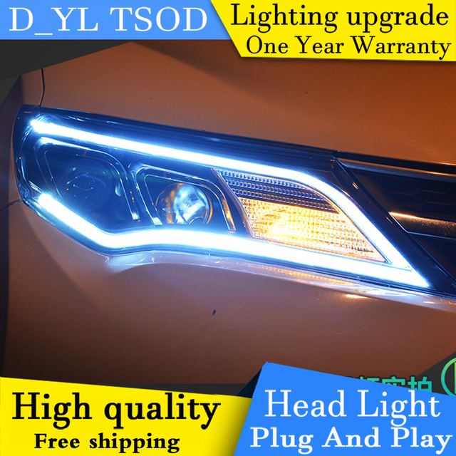 Car styling headlights for toyota rav4 2013 2015 led headlight for car styling headlights for toyota rav4 2013 2015 led headlight for rav4 head lamp led sciox Image collections