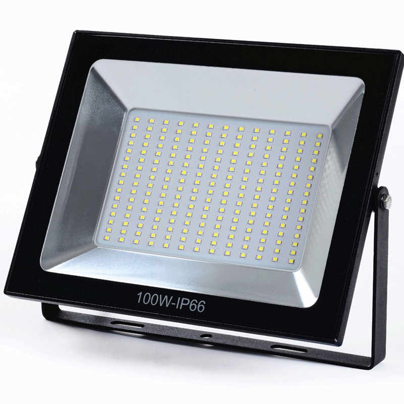 100W LED Flood Light WaterProof 30W 50W 220V 230V Flood Lamp Spotlight Outdoor Wall Light Garden Projector