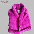 Long Bathrobe Home Wear Clothes Dressing Gown Women's Bathrobe Coat Female Flannel Nightdress Women Warm Bath Robes E0065