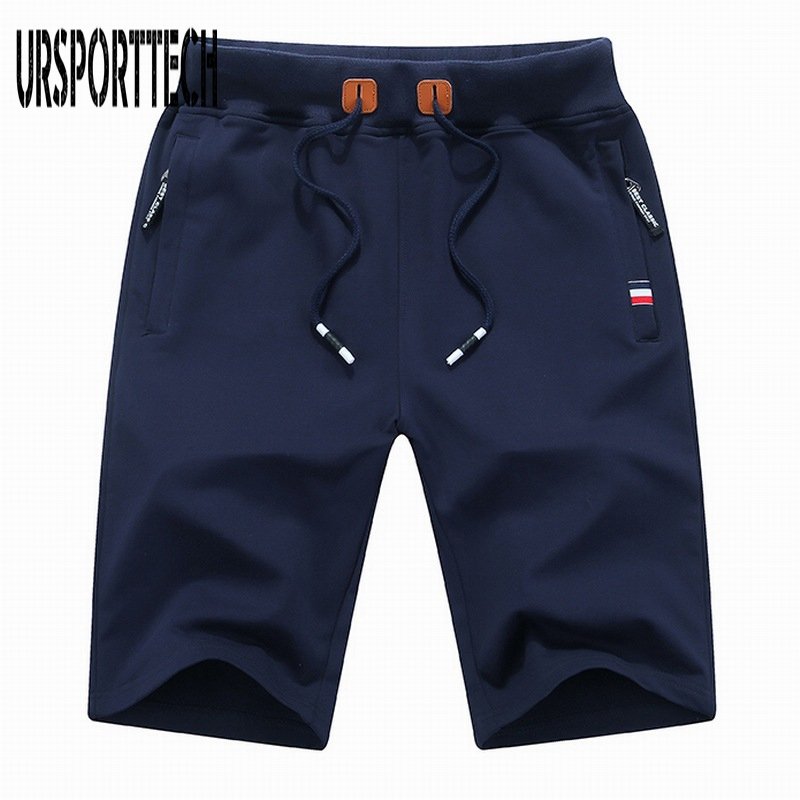 URSPORTTECH Brand Clothing Men Shorts Cotton Casual Male Short Summer Mens Beach Shorts Homme Plus Size M-6XL