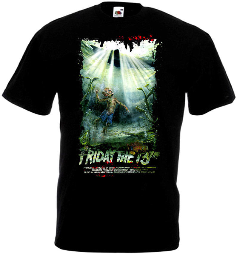 Friday The 13 v21 T-Shirt all sizes S-5XL BLACK