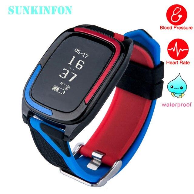 Smart Wristband Watch Blood Pressure Fitness Tracker Heart Rate