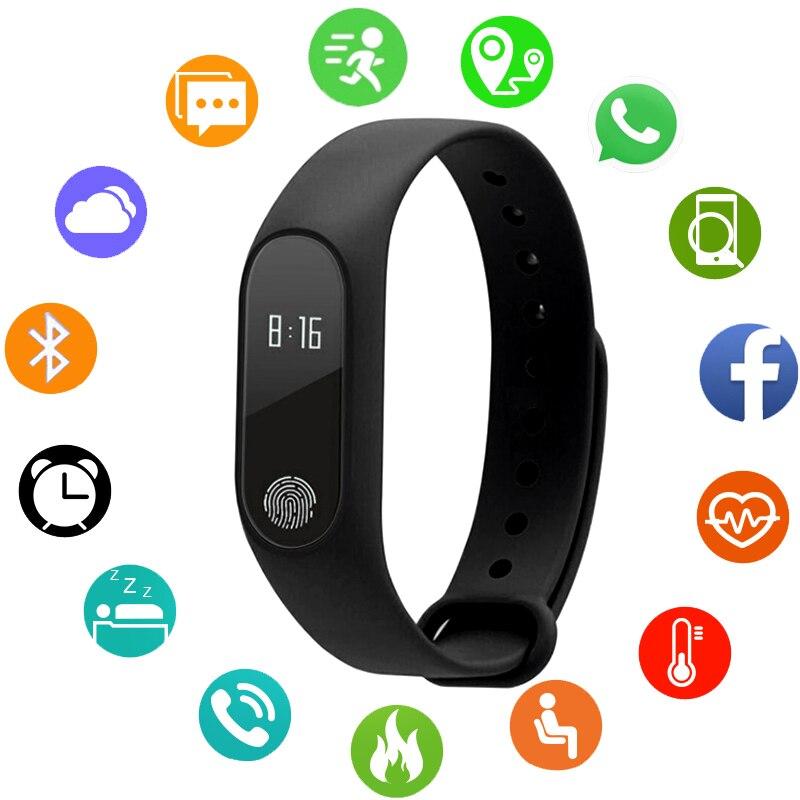 JBRL inteligente reloj superior de la marca de lujo de pulsera deportivo electrónico Relojes LED Digital Bluetooth mujeres reloj impermeable reloj