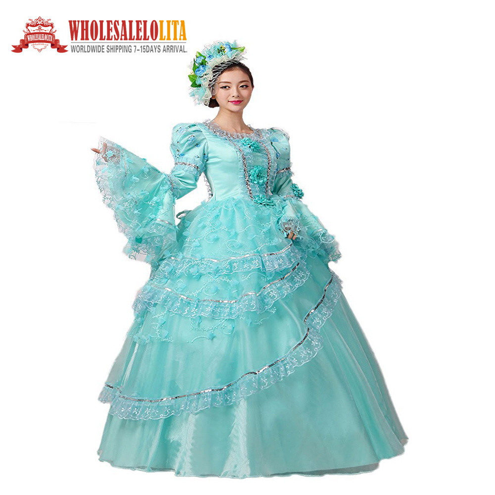 New 18th Century Civil War Southern Belle Masquerade Ball Gown ...