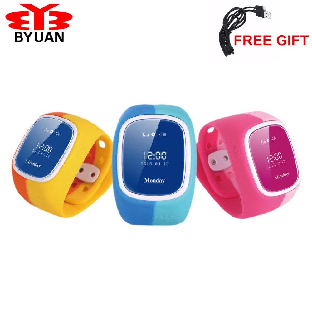 2017 Smart Phone font b Watch b font Children Kid Wristwatch font b GSM b font
