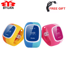 2017 Smart Phone Watch Children Kid Wristwatch GSM GPRS GPS Locator Tracker Anti-Lost Smartwatch Child Guard for iOS Android